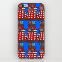 doctor who iPhone & iPod Skins featuring Doctor Who by Alli Vanes