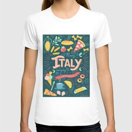 Missing Italy everyday poster T-shirt