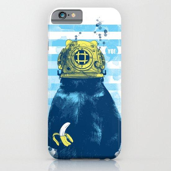 Wild Diver iPhone & iPod Case