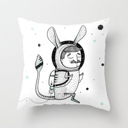 The Jerboa's Dream Throw Pillow