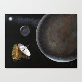 New Horizons at Pluto Canvas Print