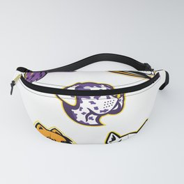 Dog Heads Mascot Collection Fanny Pack