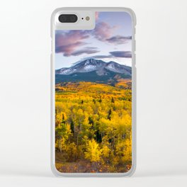 Chasing The Gold Clear iPhone Case