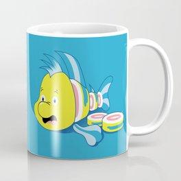 Flounder Sushi Coffee Mug