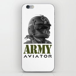 Army Aviator Military Pilot iPhone Skin