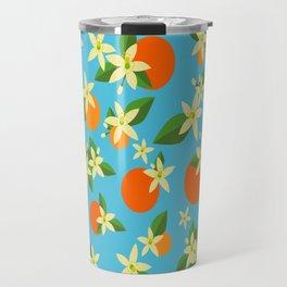 Orange Blossom Daydreams Travel Mug