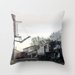 Strasburg Railroad Series 21 Throw Pillow
