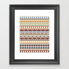 Aztec 2 Framed Art Print