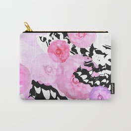 Camellia Blush Carry-All Pouch