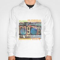 florida Hoodies featuring Florida by Vivian Fortunato