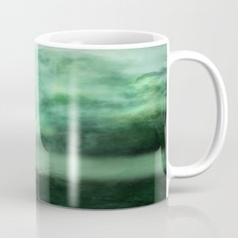 Atmosphere in  green. Coffee Mug