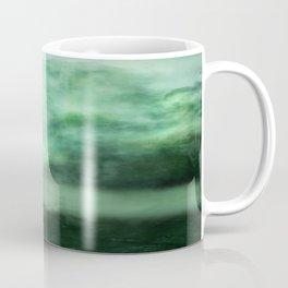 Atmosphere in  green. Coffee Mug