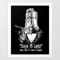 Ned Kelly Art Print