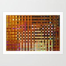 Checkered Reflections I Art Print