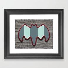 Arctic Bat Framed Art Print