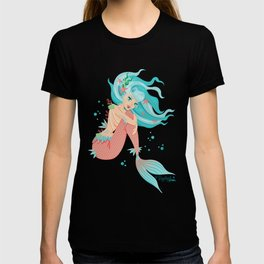Monster Mermaid Pin-Up T-shirt