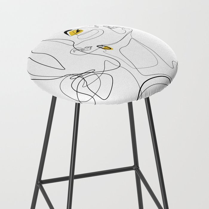 Color Beauty Bar Stool