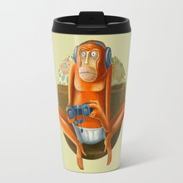 Monkey play Travel Mug