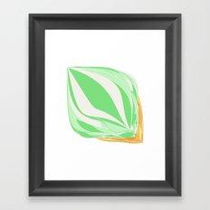 Mint Icecream Framed Art Print