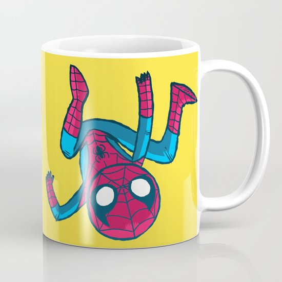 Does whatever a spider can! Mug