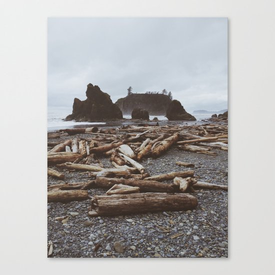 Ruby Beach Canvas Print