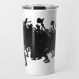 Zinc Silhouette For The Chat Noir Cabaret Shadow play L'Épopée  Travel Mug