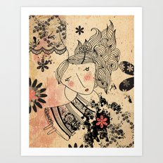 Lovely April Art Print