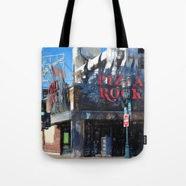 Pizza Rock Las Vegas - Colored Pencil Tote Bag