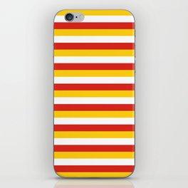 Bhutan dorset flag stripes iPhone Skin