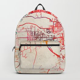 Grants Pass map Oregon OR Backpack