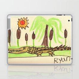 Crocodile Swamp Laptop & iPad Skin