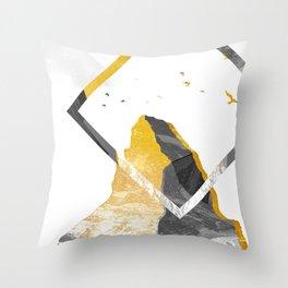 FOLLOW THE SUMMIT Throw Pillow