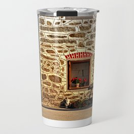 Traditional farm with beautiful front | architectural photography Travel Mug