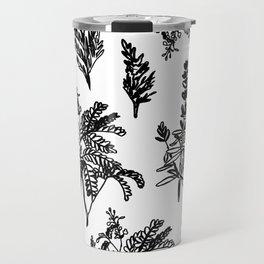 fleur noir Travel Mug