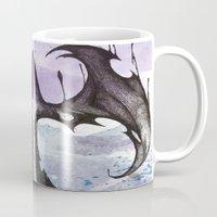 bats Mugs featuring bats by Will Baten