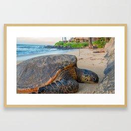 resort life Framed Art Print