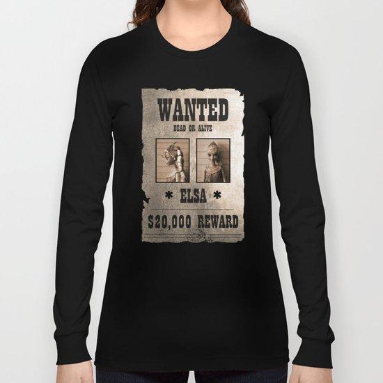Elsa - Wanted Long Sleeve T-shirt