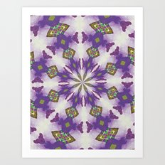 Native Mandala A Art Print