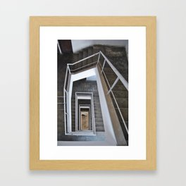 Inside of Arch #1 Framed Art Print