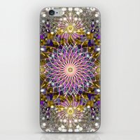 sparkle iPhone & iPod Skins featuring Sparkle by Angelo Cerantola
