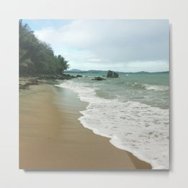Puerto Rican Waves Metal Print