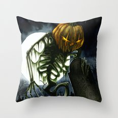Jack the Reaper Throw Pillow