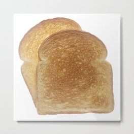 Breakfast Toast  Metal Print