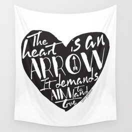 Heart is an Arrow - Six of Crows design Wall Tapestry