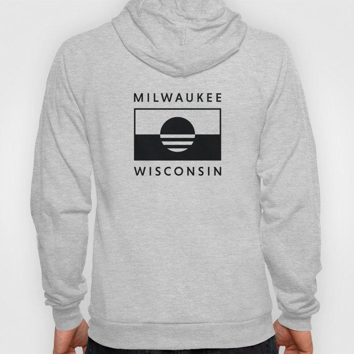 Milwaukee Wisconsin - Black - People's Flag of Milwaukee Hoody