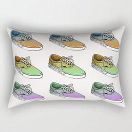 Sneakers II Rectangular Pillow