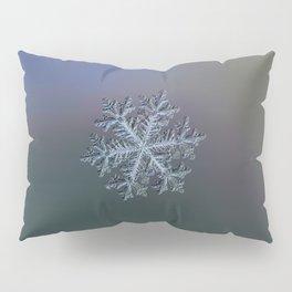 Real snowflake - Hyperion dark Pillow Sham