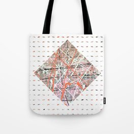 Flight of Color - diamond graphic Tote Bag