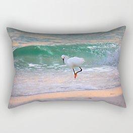 The Sun has set On The shoreline Rectangular Pillow