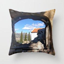 022 Throw Pillow